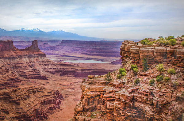 Photograph - Canyon Landscape by James Woody