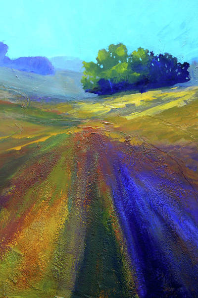 Wall Art - Painting - Canyon Landscape Painting by Nancy Merkle