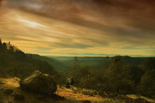 Photograph - Canyon Trail At Sunset by Frank Wilson