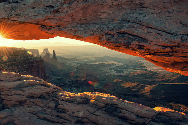Photograph - Canyonlands Morning Landscape - Mesa Arch by Gregory Ballos