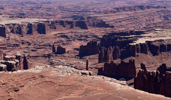 Photograph - Canyonlands View - 5 by Christy Pooschke