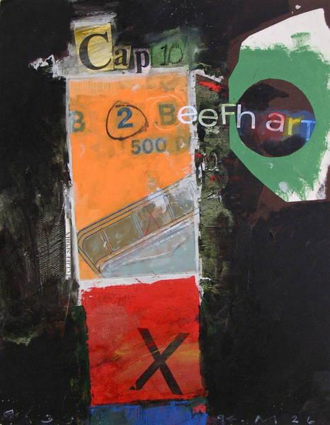 Painting - Cap 10 Beefh Art   -m- by Cliff Spohn