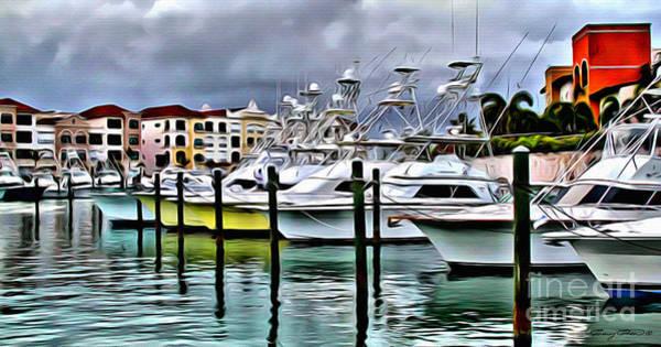 Blue Marlin Photograph - Cap Cana by Carey Chen