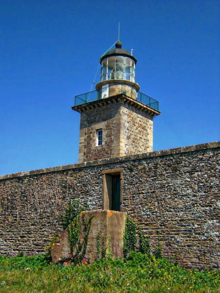 Photograph - Cap De Carteret Lighthouse by Anthony Dezenzio
