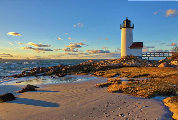 Photograph - Cape Ann Annisquam Harbor Lighthouse by Juergen Roth