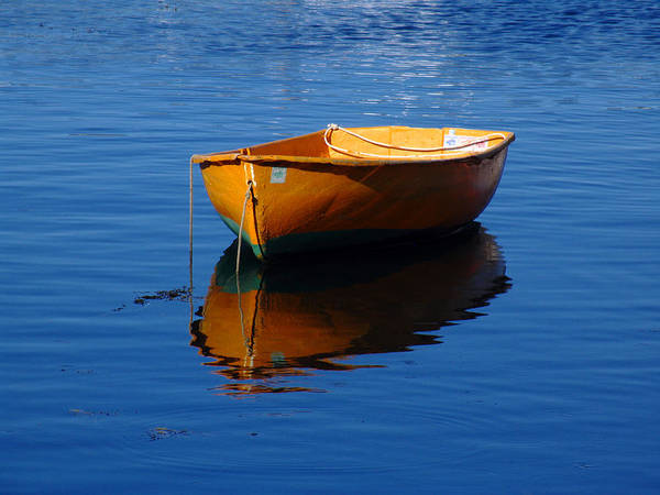 Photograph - Cape Ann Dinghy by Juergen Roth