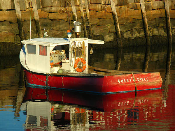 Photograph - Cape Ann Fishing Boat by Juergen Roth