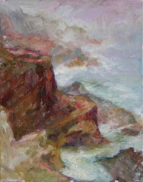 Painting - Cape Arago Afternoon by Quin Sweetman