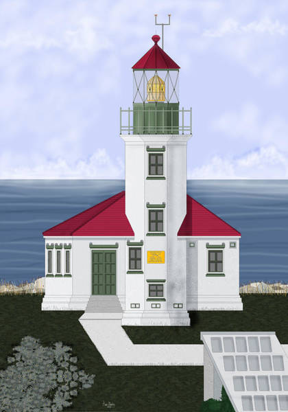Wall Art - Painting - Cape Arago Oregon by Anne Norskog