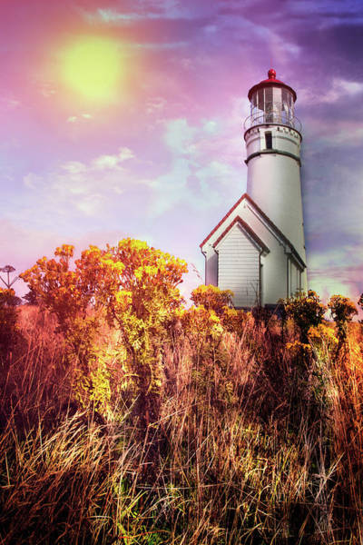 Photograph - Cape Blanco Lighthouse In Oregon by Debra and Dave Vanderlaan