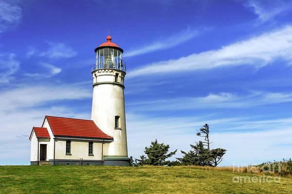 Photograph - Cape Blanco Lighthouse by James Eddy