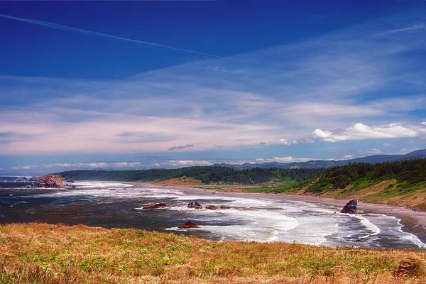 Photograph - Cape Blanco Oregon Seascape by Joan Carroll