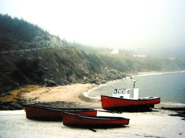 Cabot Trail Photograph - Cape Breton Fishing Boats by Will Borden