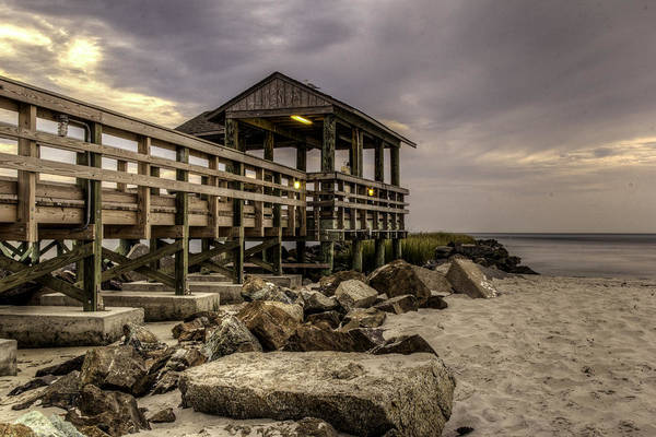 Photograph - Cape Charles Pier by Pete Federico
