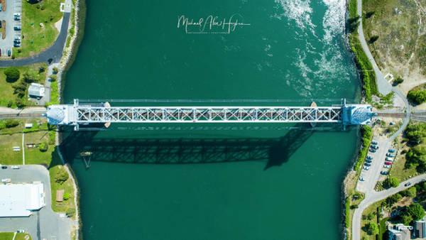 Photograph - Cape Cod Canal Railroad Bridge by Michael Hughes