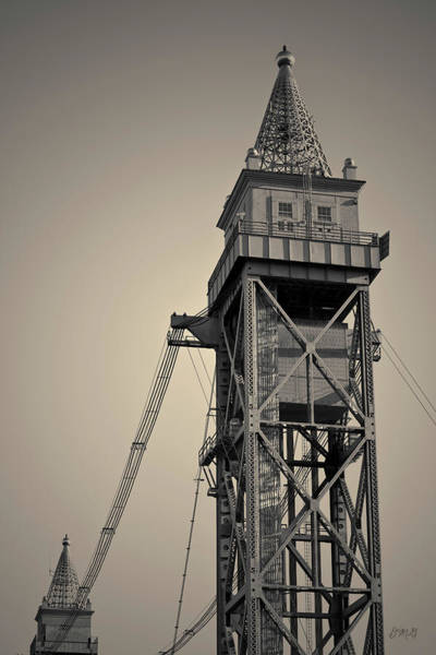 Photograph - Cape Cod Canal Rr Bridge V Toned by David Gordon