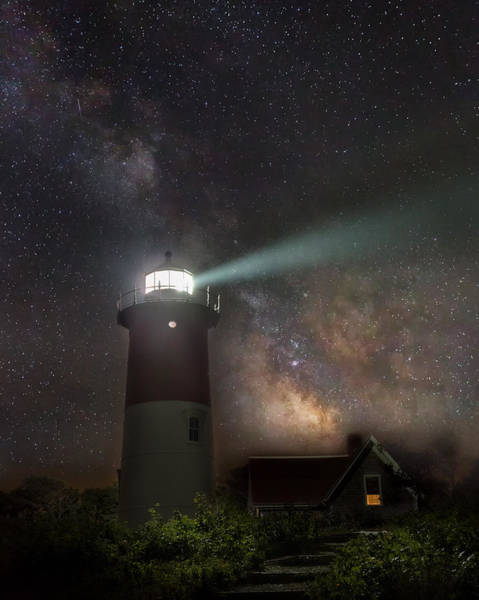 Photograph - Cape Cod Celestial Outpost by Bill Wakeley