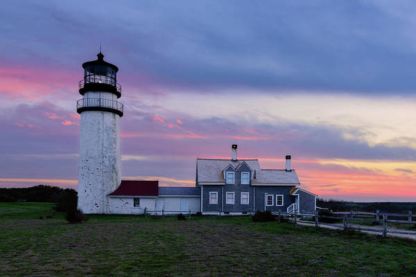 Wall Art - Photograph - Cape Cod Light by Michael Blanchette