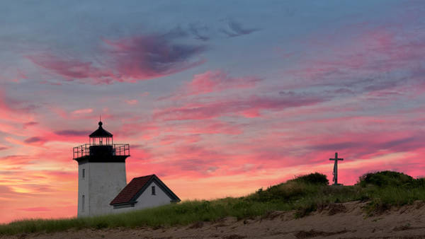 Photograph - Cape Cod Long Point Light by Bill Wakeley