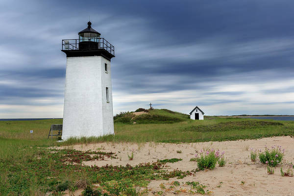 Photograph - Cape Cod Long Point Lighthouse by Bill Wakeley