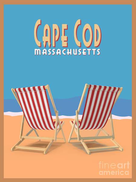 Digital Art - Cape Cod Massachusetts by Edward Fielding