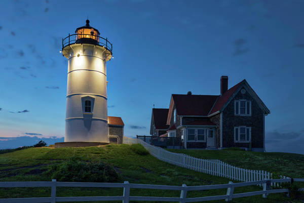 Photograph - Cape Cod Nobska Light by Juergen Roth