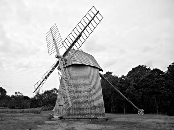 Photograph - Cape Cod - Old Higgins Farm Windmill by Richard Reeve