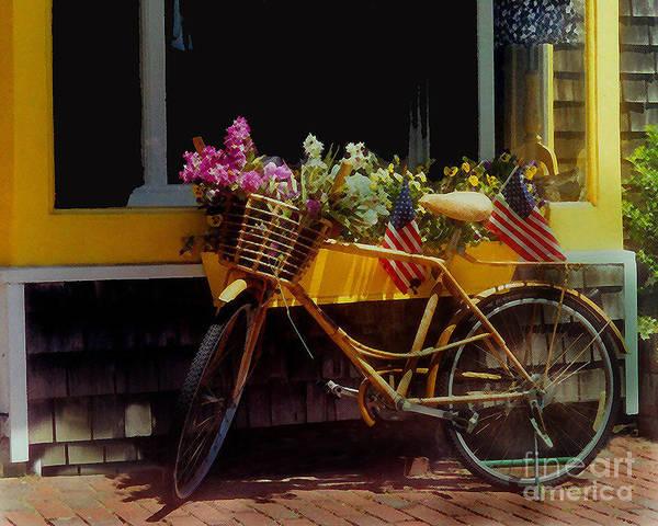 Diane Berry Wall Art - Digital Art - Cape Cod Petals by Diane E Berry