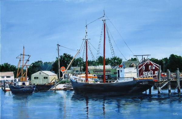 Painting - Cape Cod Remembered by William Brody