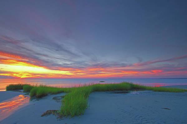 Photograph - Cape Cod Skaket Beach by Juergen Roth