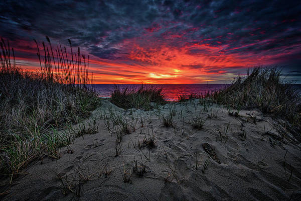 Berk Wall Art - Photograph - Cape Cod Sunrise by Rick Berk