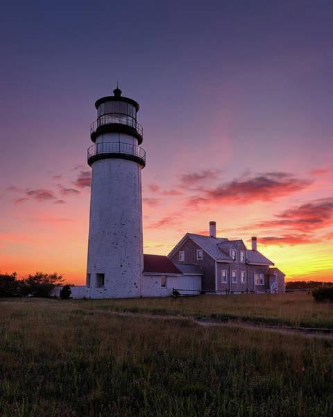 Wall Art - Photograph - Cape Cod Sunset - Vertical by Michael Blanchette