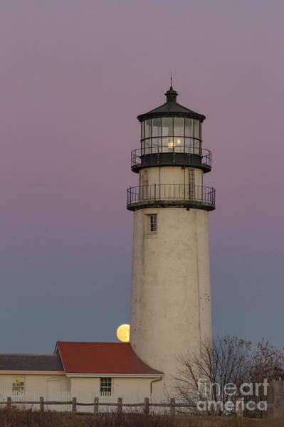 Photograph - Cape Cod Super Moon Rising by Richard Sandford