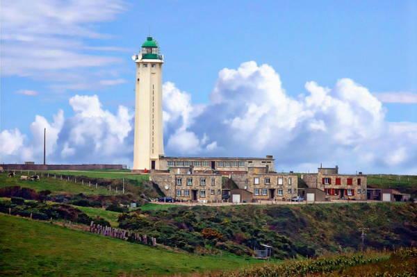 Photograph - Cape D'antifer Lighthouse by Anthony Dezenzio