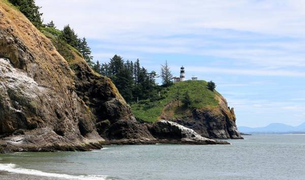 Photograph - Cape Disappointment Lighthouse by Christy Pooschke