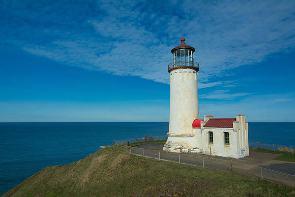 Wall Art - Photograph - Cape Disappointment Lighthouse by Rich Leighton
