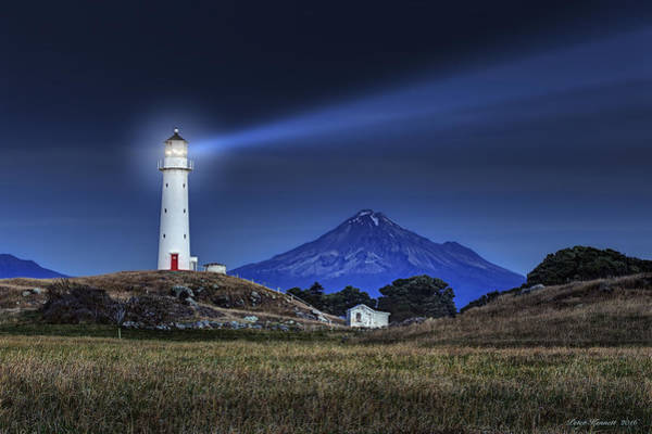 Photograph - Cape Egmont by Peter Kennett