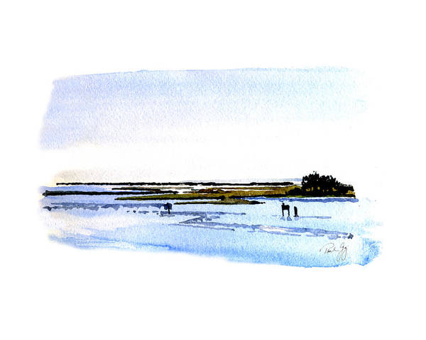 Cape Fear Intercoastal Morning Art Print