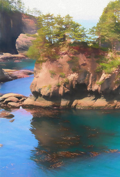 Photograph - Cape Flattery Reflection by Dan Sproul