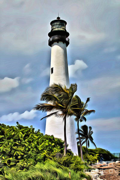 Key Biscayne Photograph - Cape Florida by Carey Chen