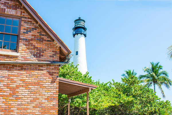 Photograph - Cape Florida Lighthouse 01 by Gene Norris