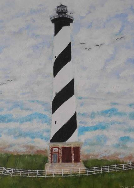 Don Williams Painting - Cape Hatteras Light House by Don Williams