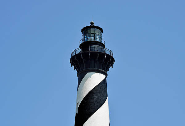 Wall Art - Photograph - Cape Hatteras Lighthouse - North Carolina by Brendan Reals