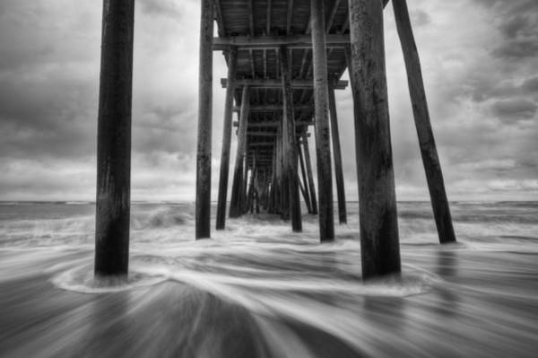 Obx Photograph - Cape Hatteras Outer Banks Nc - Rodanthe Fishing Pier by Dave Allen