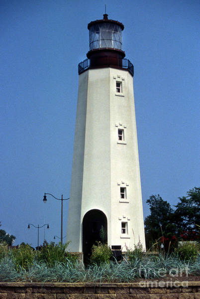Rehoboth Beach Photograph - Cape Henlopen Lighthouse De by Skip Willits