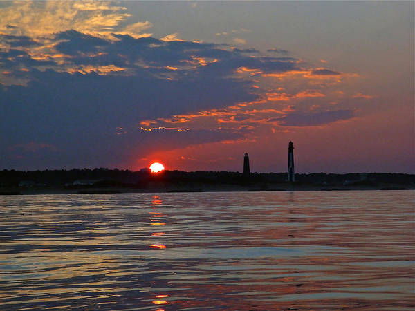 Photograph - Cape Henry Sunset by Don Mercer