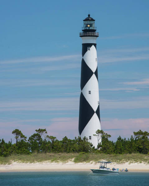 Harker Photograph - Cape Lookout Lighthouse by Connie Mitchell