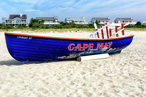 Photograph - Cape May Beach 2008 by John Rizzuto