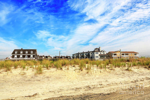 Photograph - Cape May Beach House Colors by John Rizzuto