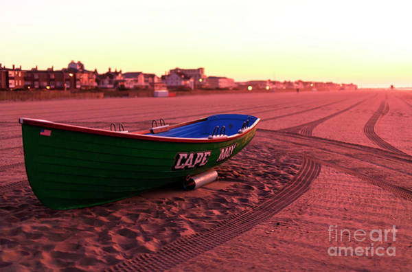 Photograph - Cape May Beach Morning by John Rizzuto
